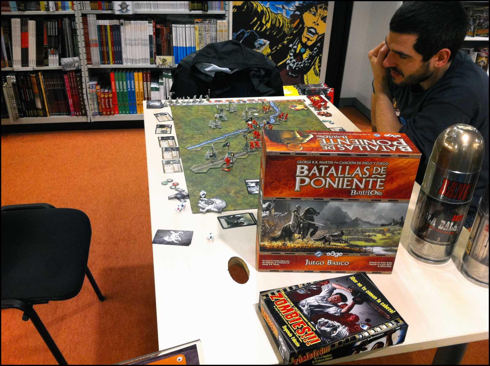 Batallas De Poniente Aprendiendo A Jugar Guardiaoscura