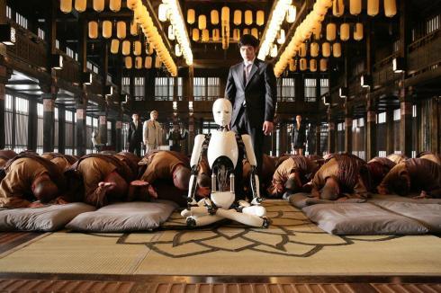 The Hevenly Creature, Yo robot, tu también.