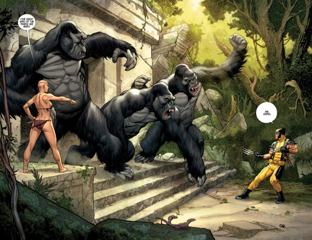 Image result for wolverine kill island