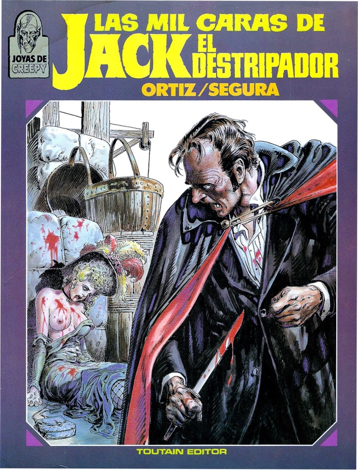 Las mil caras de Jack el Destripador0 cover ToutainBONA