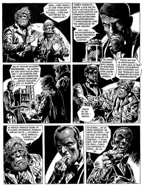 Las mil caras de Jack el Destripador3 Carroñeros pag04 Creepy #68BONA