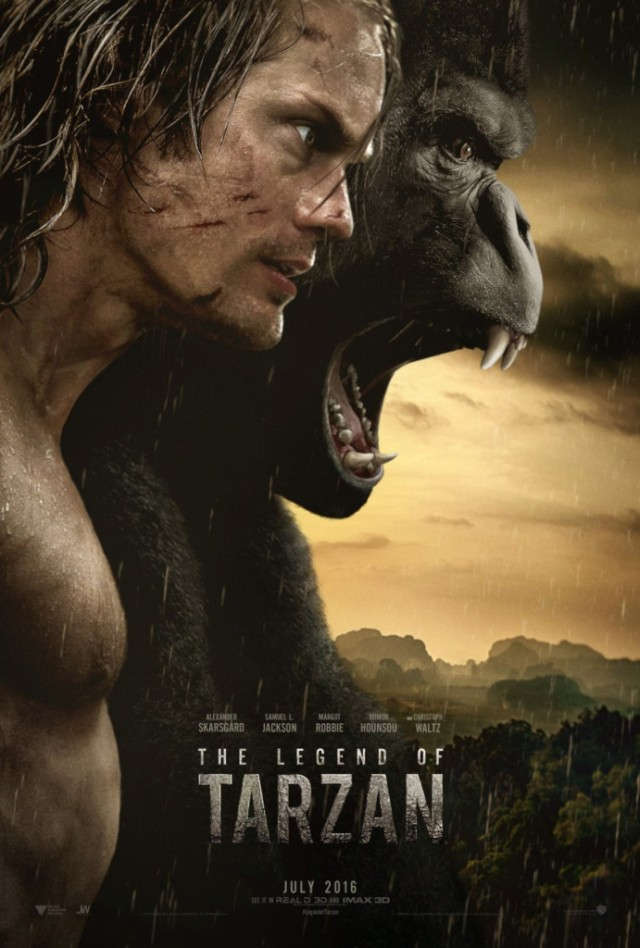The Legenf of Tarzan Poster